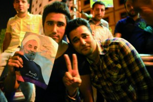 photo taken by Chan when she covered the presidential election in Iran