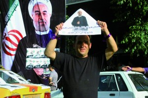 photos taken by Chan when she covered the presidential election in Iran
