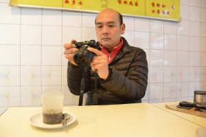K.C. Koo, Hong Kong's only full-time food blogger