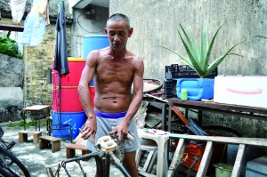 Wong Cheuk-kai, resident of Sha Po Village