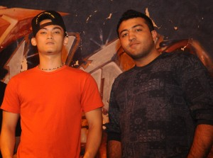 Dope Boy members Hector Telmo (Left) and Mohit Kaliandasani