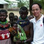 Au started his volunteering in a hospital in Kenya.