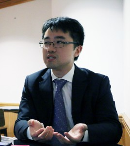 Jeff Sze Chun-fai, the political assistant to the Secretary for Education,