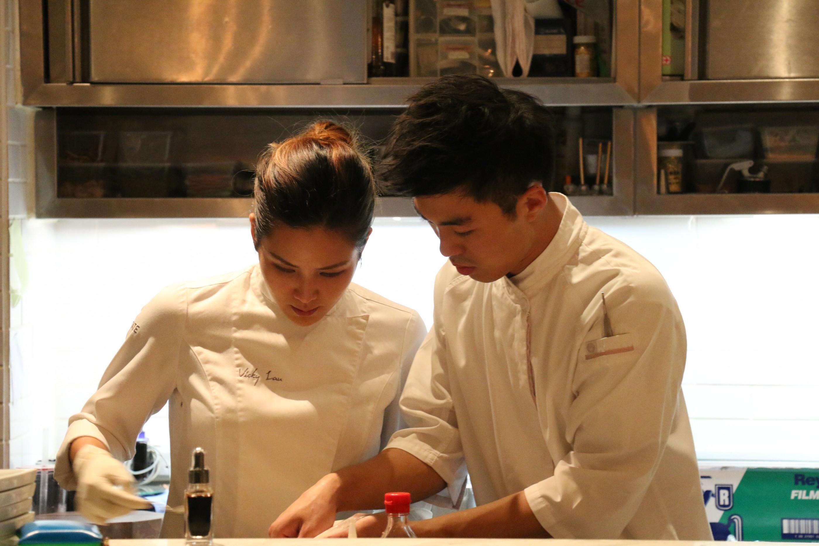 Chef Vicky Lau Wan-ki