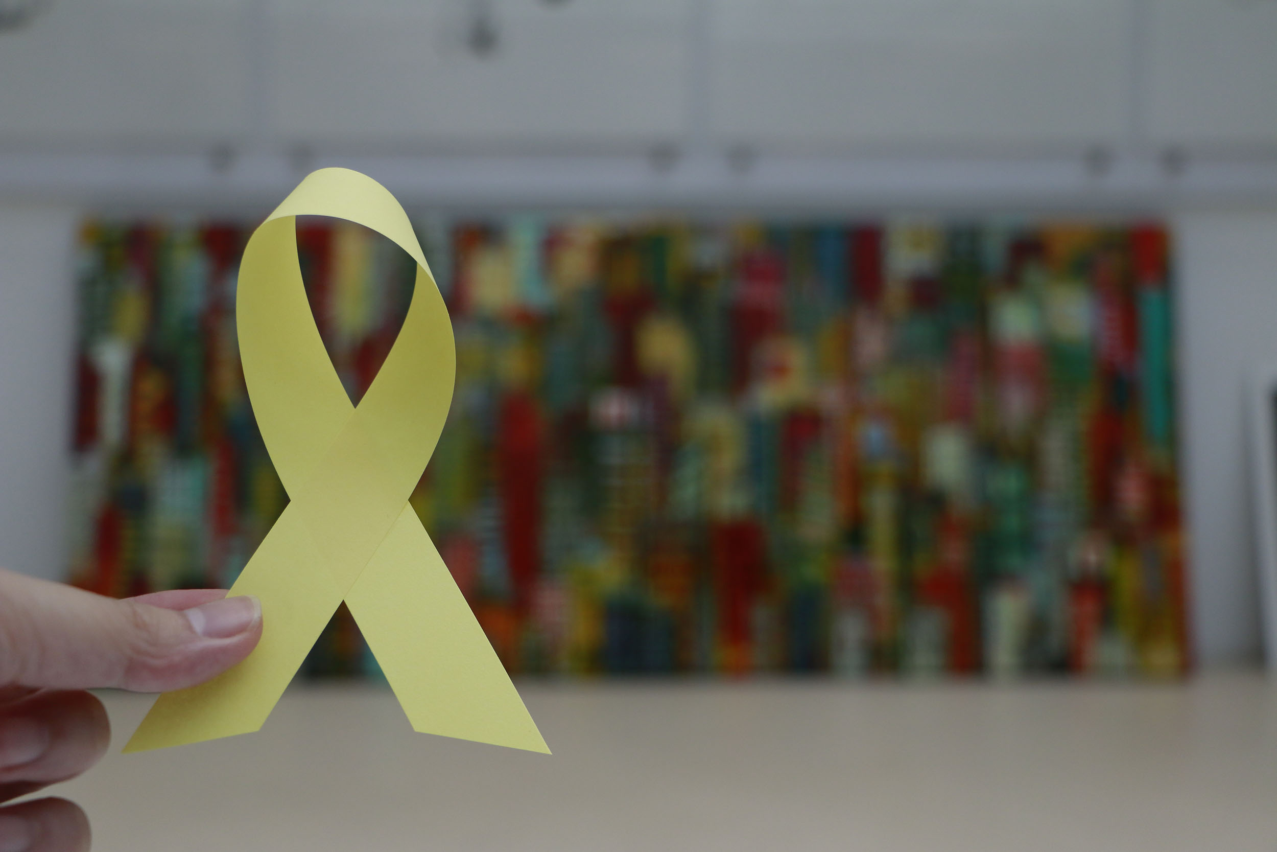 Periscope social engagement yellow ribbon