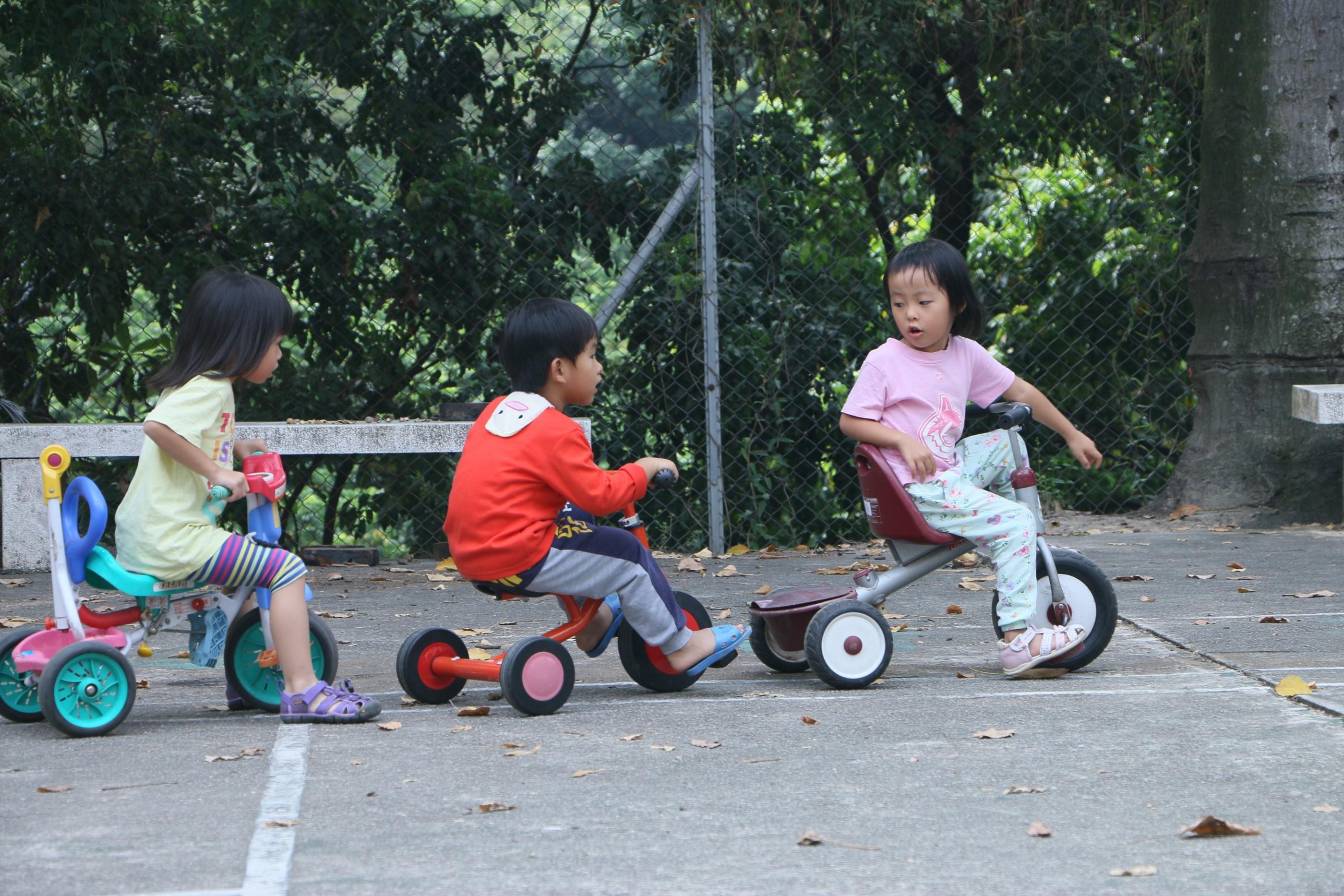 Hong Kong children free play