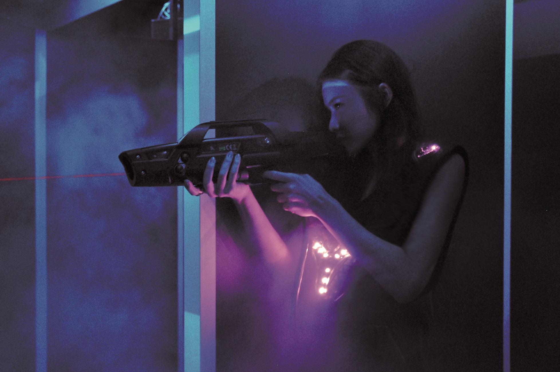 Lasermads laser tag Hong Kong