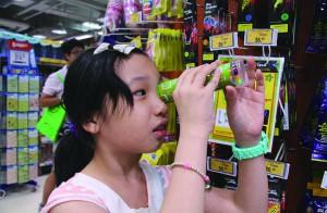Martina Lau Yuet-yiu questions why she cannot run at school.