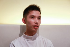 University student, Arthur Chang