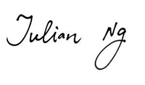 Julian's Signature