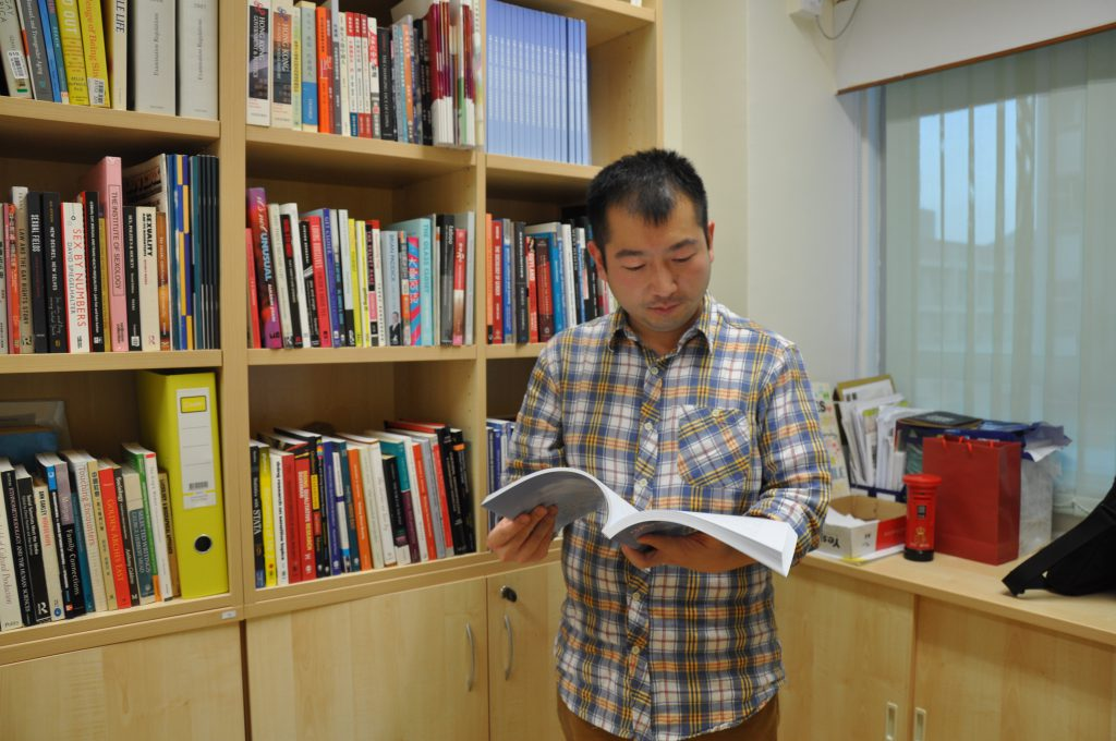 Professor Suen Yiu-tung, the principal investigator of Study on Legislating against Discrimination on the Grounds of Sexual Orientation, Gender Identity and Intersex Status