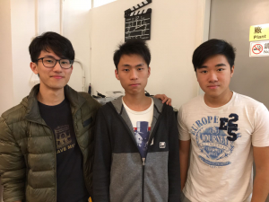 The three co-founders of Creator Studio.