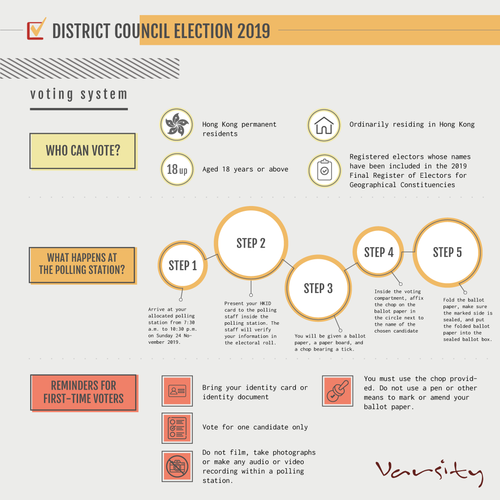 In this series of infographics, we present how the District Council voting system works.